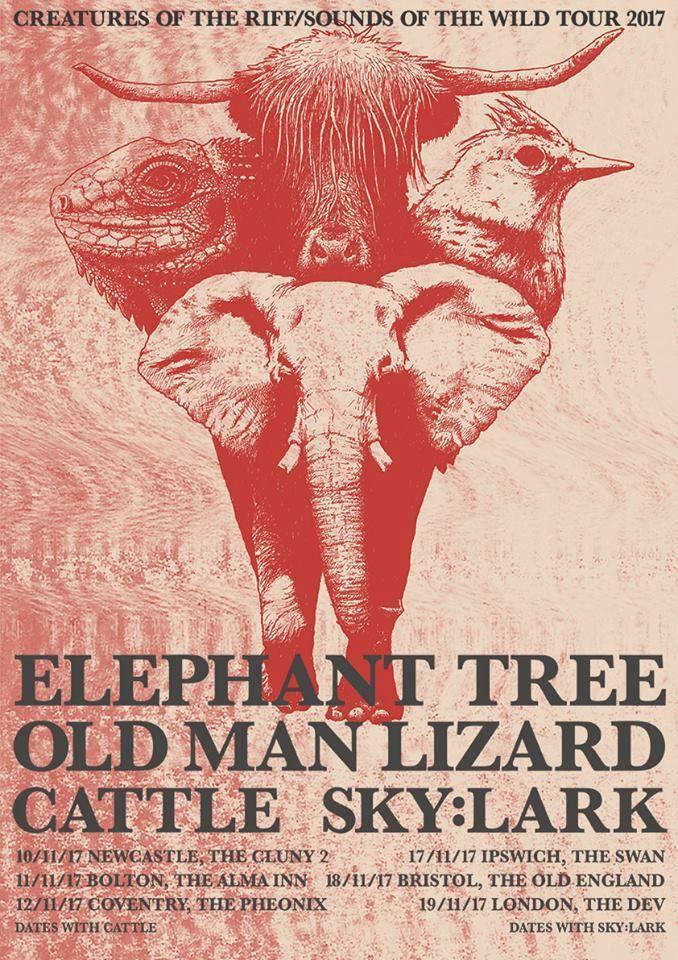 Elephant Tree - Chaos Theory DJs poster