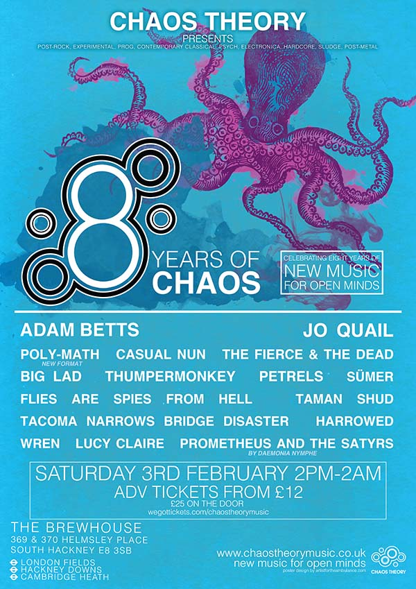 8 Years of Chaos poster