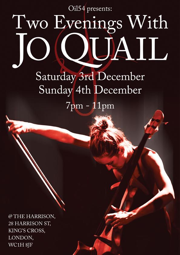 Jo Quail poster