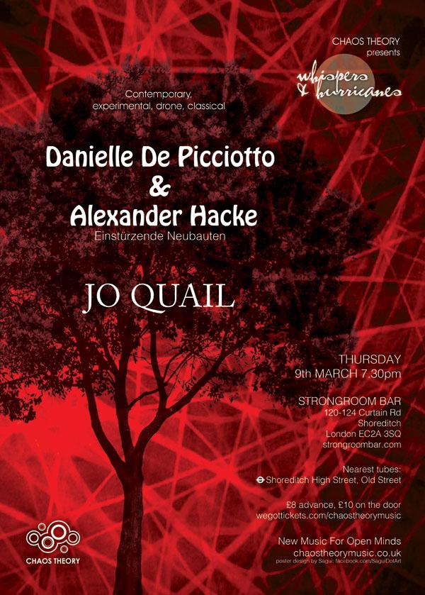 Danielle de Picciotto Alexander Hacke poster