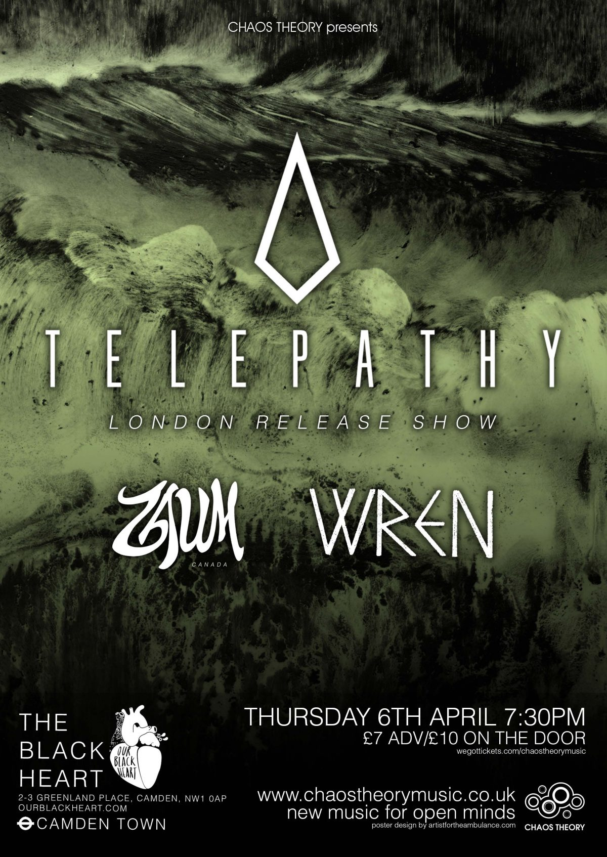 Telepathy poster