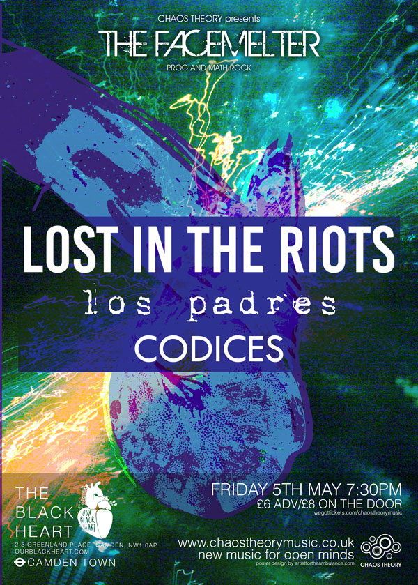 Lost in the riots poster